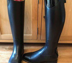 De Niro Salento Patent Boots