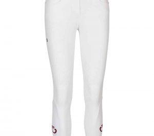Cavalleria Toscana New Grip System Breeches-White