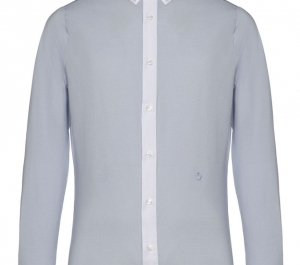 Cavalleria Toscana Men's Microprint Jersey Competition Shirt