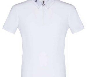 Cavalleria Toscana Boys Jersey Jacquard Back Short Sleeve competition shirt
