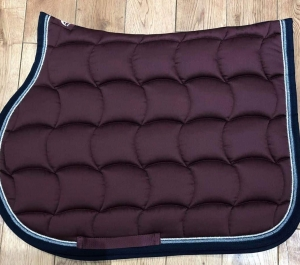 Anna Scarpato Silver Trim Saddle Cloth