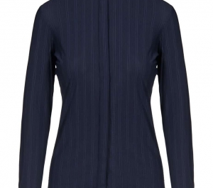 Cavalleria Toscana Women's Embossed Stripe Competition Shirt