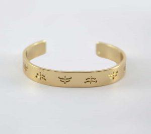 MakeBe Brass Temple Bracelet