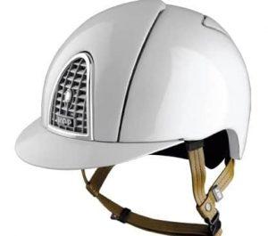 KEP Helmet Cromo Shine- White