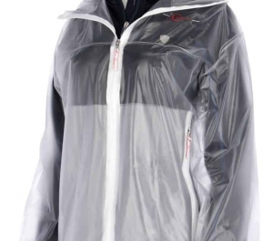 Covalliero Transparent Waterproof Rain Coat