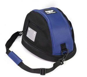 KEP Hat Bag- Blue Leather