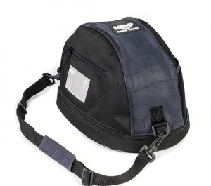 KEP Hat Bag- Cocco Blue Leather