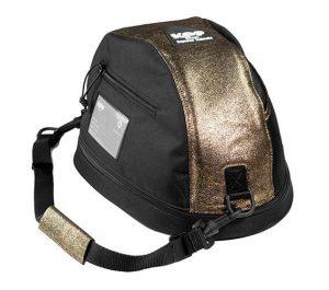 KEP Hat Bag- Gold Glitter Leather