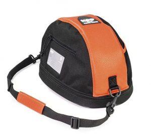 KEP Hat Bag- Orange Leather