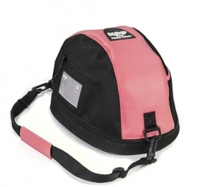 KEP Hat Bag- Pink Leather