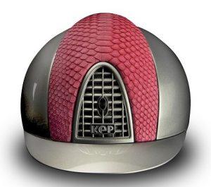 KEP Helmets Cromo Metal Pink python