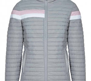 Cavalleria Toscana Child's Ultralight Packable Quilted Puffa Jacket-Grey