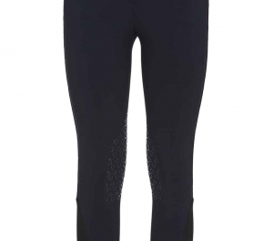 Cavalleria Toscana Girl's Laser Cut CT Detail Breeches- Navy