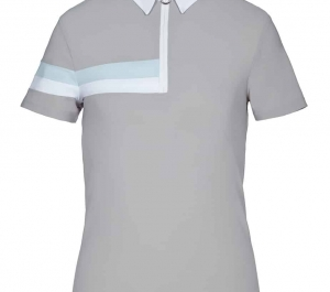 The Cavalleria Toscana Boy's Jersey 2 Stripe Short Sleeve competition shirt